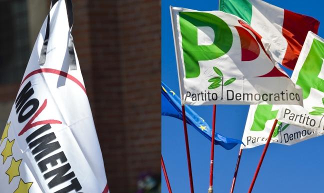 Index Research per Piazza Pulita, nelle intenzioni di voto, il Movimento5Stelle vola e sorpassa il Pd